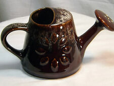 Vintage Ornamental Ceramic Watering Can - Kernewek Pottery Cornwall