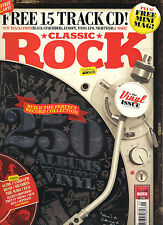 CLASSIC ROCK May 2015 The 250 Must Own Vinyl Lp's Records Albums + CD & MINI MAG