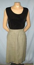 J H Collectibles Wool Herringbone Pencil Skirt Size 12 Timele