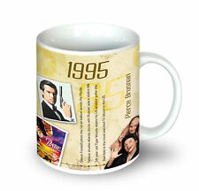 1995 (21st) Birthday Gifts - 1995 Ceramic Coffee | Tea Mug For Men and Women