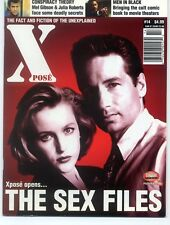 Xpose #14 X-Files Mulder Scully Duchovny Photo Cover F-VF 1997