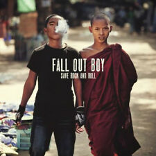 """Fall Out Boy SAVE ROCK AND ROLL Gatefold NEW SEALED RED COLORED VINYL 2 10"""" LP"""