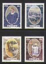 SWA 1986 Wool/Model/Sheep/Weaving 4v set (n19950)