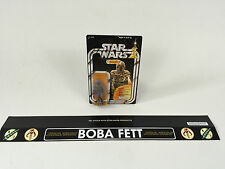 "vintage star wars custom large boba fett logo shelf talker 24"" long talkers"