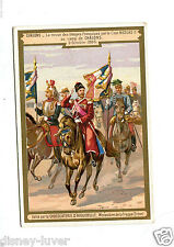 Victorian Trade Card CHOCOLATERIE D'AIGUEBELLE Chalons Czar Nicolas II chocolate