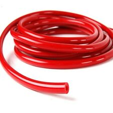 "RED ID:3 mm  (1/8"") Vacuum Silicone Hose Intercooler Coupler Pipe Turbo 1 foot"