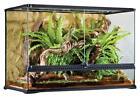 EXO TERRA Natural Terrarium Glas 90x45x60 inkl. Rückwand large - hoch - tall