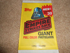 STAR WARS - 1980 THE EMPIRE STRIKES BACK GIANT PHOTO CARDS - TOPPS -  RARE