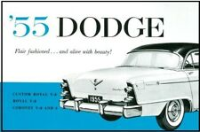 Factory Owners Manual for 1955 Dodge Passenger Cars