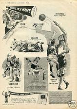 1943 Ethyl Gas Additive What's In A Name Print Ad Elsie Reginald Oscar Edward