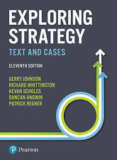Exploring Strategy Text and Cases by Richard Whittington, Gerry Johnson, Kevan S