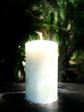 WEDDING RANGE of SCENTED SOY ECO Candle 40 hour WHITE IVORY CREAM ALL FRAGRANCES