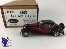 CLUB AMIS DU 1/43 B14 BUGATTI T 50 T 3° VERSION MARRON BORDEAUX NO MCM