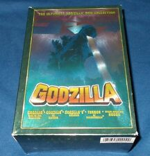 GODZILLA THE ULTIMATE COLLECTION 5 X DVD SET VS MOTHRA, KING OF THE MONSTERS,