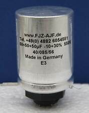 multisection screw mount electrolytic  50/50/50µF 550V/600V FTCap, Germany