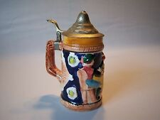 "Hand Painted German Beer Stein ""Froh Biem Bier"""