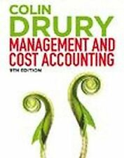 Colin Drury Management And Cost Accounting 9E by Drury