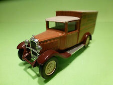 SOLIDO 1:43 CITROEN C4F 1930 - DE BIJENKORF - EXTREMELY RARE - GOOD CONDITION