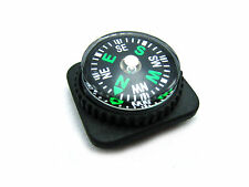 Mini Compass with Holster Watch Band Paracord Bracelet Compass Universal Size