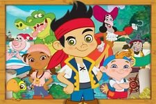 "Jake And The Neverland Pirates Banner Poster 24"" x 36"" - Great Birthday Gift!"