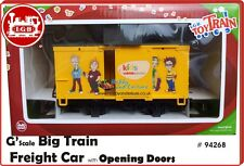 LGB 94268 Freight Boxcar with Kids Club Toy Train G Scale Garden Railway #94268