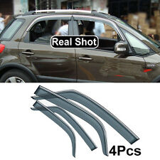 Window Visor Rain Deflector Weathershield Fit For Suzuki SX4 Weather Shield