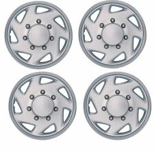 FORD E150 VAN WHEEL COVER HUB CAP 16 INCH REF#609CT NEW SET OF 4PC