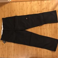 Dickies WP882 Double Knee Work Pant Regular Straight 32X32Black