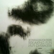 "SONS & DAUGHTERS Breaking Fun UK vinyl 7"" UNPLAYED"