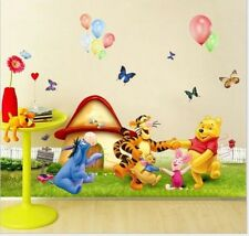 Wall Decals Kids Bedroom & Baby Nursery Stickers Art Decor Room Winnie The Pooh