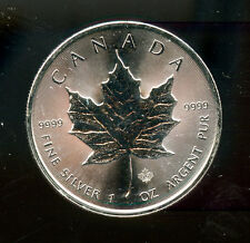 2014 Canada 1 ounce .9999 Silver Maple Leaf free shipping
