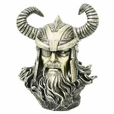 Odin Bust Statue Viking Norse Mythology God Ruler Of Asgard