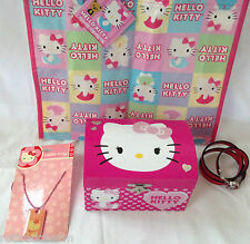 ❤️HELLO KITTY LOT �� Christmas �� Jewelry Package Stocking Stuffers NEW Gifts❤️