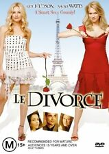Le Divorce (DVD, 2004) - Region 4 Comedy DVD Rated M Used in Very Good Condition