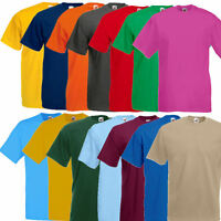 Fruit of the Loom Valueweight T-Shirt Herren T Shirt S M L XL XXL 3XL 4XL 5XL