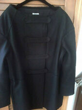 Philosophy di Alberta Feretti black wool double-breasted coat, size 12