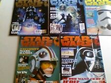STAR WARS - THE OFFICIAL MAGAZINE x 5 ISSUE LOT.