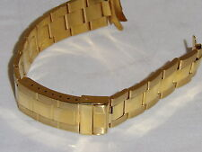 GENEVE18K Yellow Gold Daytona STYLE  Oyster SOLID 18K BAND - APROX. 69 GRAMS