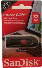 SanDisk Cruzer Glide USB 32GB Flash Drive Neu & OVP USB-Stick 32 GB 2.0/3.0
