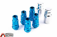 12X1.25 5PC WHEEL LUG LOCK VARRSTOEN BLUE FIT SUBARU LEGACY IMPREZA WRX STI