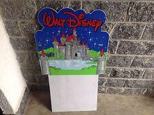 Vintage 90S Super Rare Walt Disney  Shop Billboard Display For Toys & Vhs