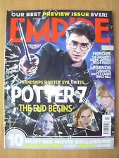 EMPIRE FILM MAGAZINE No 256 OCTOBER 2010 HARRY POTTER AND THE DEATHLY HALLOWS