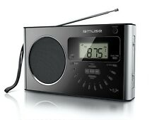 Muse M-089R 4 - Bande PLL Portatile Radio con 40 Preset e Direct Ingresso
