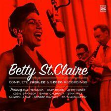 Betty St. Claire COMPLETE JUBILEE AND SEECO RECORDINGS (3 LP ON 1 CD)