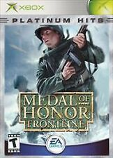XBox Platinum Hits Medal of Honor Frontline Video Game Sealed New