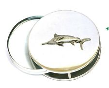 Marlin Reading Magnifying Glass Office Desktop Big Game Sea Fishing Gift