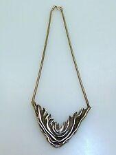CREATEUR collier en argent 925 poinçon main silver necklace vintage