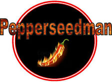 #5 Med Hot Pepper Seed Collection-22 Diff Types-Hot Chipotle,Cajun Bell,20 More!