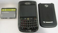 BlackBerry Tour 9630 Black Verizon Smartphone Good ESN Great Cosmetics