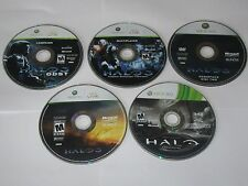 Xbox 360 Lot Of Halo Games - ODST, Anniversary Disc Only
